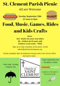 St. Clement Parish Picnic